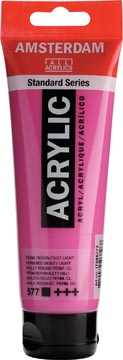 Talens acrylverf Amsterdam permanent rood violet licht