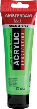 Amsterdam acrylverf, tube van 120 ml, Reflexgroen