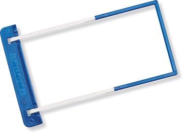 Jalema SnapClip relieur, boîte de 50 pièces, bleu