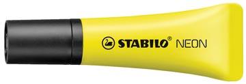 STABILO NEON markeerstift, geel