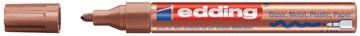 Edding glanslakmarker e-750 CR koper