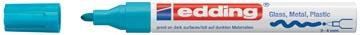 Edding glanslakmarker e-750 CR lichtblauw