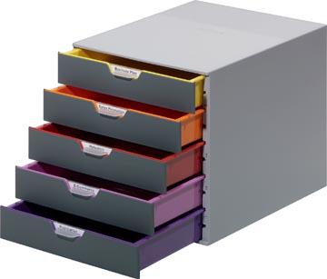 Durable Ladeblok Varicolor, 5 laden