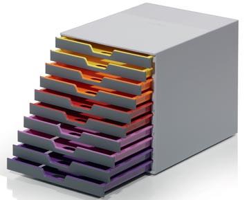 Durable Ladeblok Varicolor, 10 laden