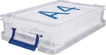 Bankers Box boîte de rangement ProStore 5,5 litres, transparent