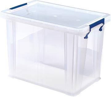 Bankers Box boîte de rangement ProStore 18,5 litres, transparent