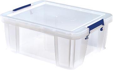 Bankers Box boîte de rangement ProStore 24 litres, transparent