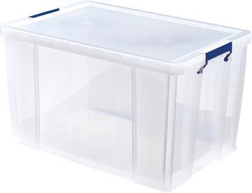 Bankers Box boîte de rangement ProStore 85 litres, transparent