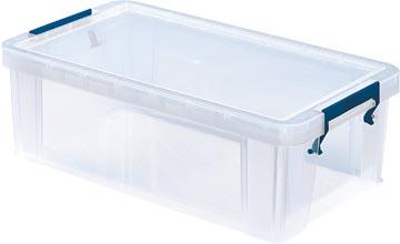 Bankers Box boîte de rangement 5,8 litres, transparent