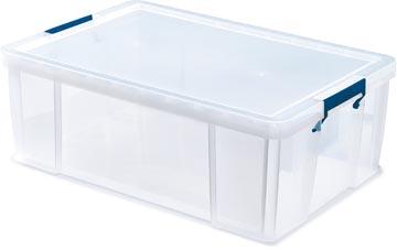Bankers Box boîte de rangement ProStore 51 litres, transparent