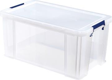 Bankers Box boîte de rangement ProStore 54 litres, transparent