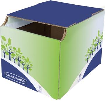 Bankers Box Corbeille à recyclage, carton certifié FSC