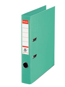 Esselte classeur à levier Power N°1 vert clair, dos de 5 cm