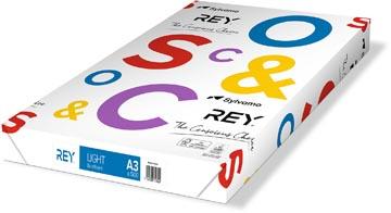 Rey Light papier d'impression ft A3, 75 g, paquet de 500 feuilles