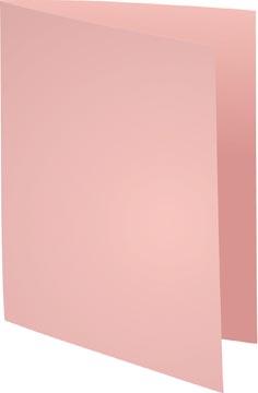 Exacompta Dossiermap Forever Bengali, uit papier van 80 g per m², pak van 250 stuks, roze