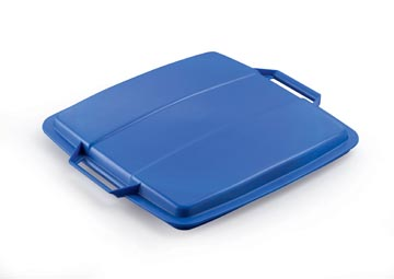 Durable couvercle Durabin 90 litre, bleu