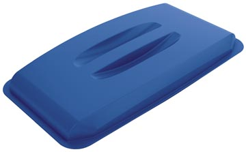 Durable deksel Durabin 60 liter, blauw