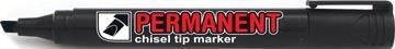 Crown permanent marker, schuine punt, schrijfbreedte 1 - 3 mm, zwart