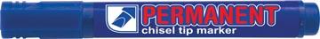 Crown marqueur permanent, pointe biseautée, largeur de trait 1 - 3 mm, bleu
