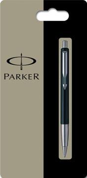 Parker Collectie Vector Standard balpen medium, zwart, blister 1 stuk