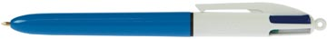 Bic balpen 4 Colours Original schrijfbreedte: 0,4 mm, medium punt: 1 mm