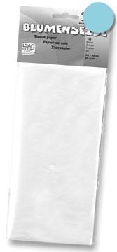 Folia papier de soie bleu clair