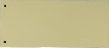 Pergamy verdeelstroken, pak van 100 stuks, geel