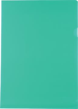 Pergamy L-map, ft A4, PP van 120 micron, pak van 25 stuks, groen