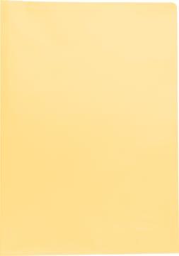 Pergamy L-map, ft A4, PP van 90 micron, doos van 100 stuks, geassorteerde kleuren