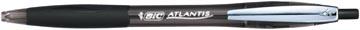 Bic balpen Atlantis Soft 1 mm, zwart
