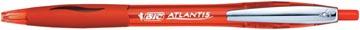 Bic balpen Atlantis Soft 1 mm, rood
