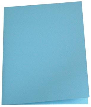 Pergamy dossiermap blauw, pak van 100