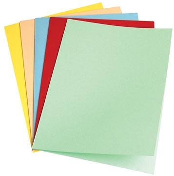 Pergamy dossiermap geassorteerde kleuren, pak van 100