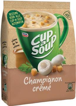 Cup-a-soup champignons crème avec croûtons, pour automates, 40 portions