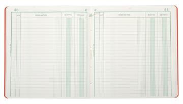 Exacompta ontvangsten en uitgaven, ft 21 x 19 cm, franstalig