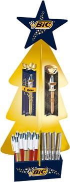 Bic présentoir arbre de Noël de 124 pièces