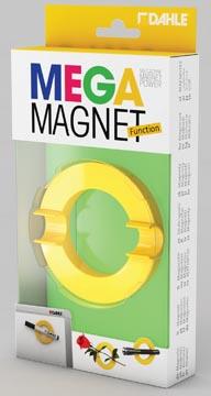 Dahle Mega Magnet Circle, aimant Néodyme, circulaire, jaune