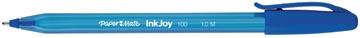 Paper Mate stylo bille InkJoy 100 avec capuchon, bleu