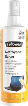 Fellowes schermreinigingsspray, flacon van 250 ml