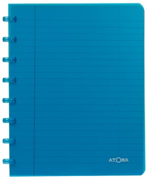 Atoma cahier Trendy ft 16,5 x 21 cm, ligné, couleurs assorties