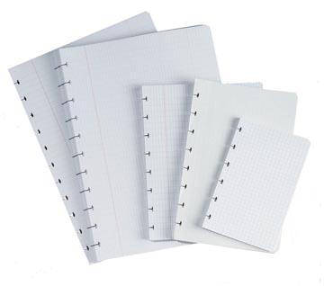 Atoma recharge pour ft 16,5 x 21 cm (cahier), quadrillé 5 mm