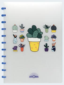 Atoma cahier Chill ft A4, ligné, couleurs assorties