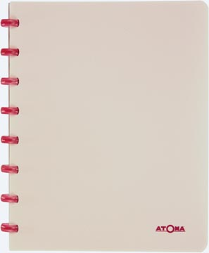 Atoma cahier Smooth ft A5, quadrillé 5 mm, couleurs assorties