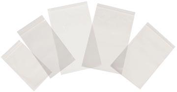 Tenza sachets transparents, ft 100 x 150 mm, paquet de 100 pièces