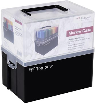Tombow brushpen ABT Dual Brush Pen, boîte de 108 pièces en couleurs assorties