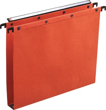 L'Oblique hangmappen voor laden AZO tussenafstand 330 mm (A4), bodem 30 mm, oranje