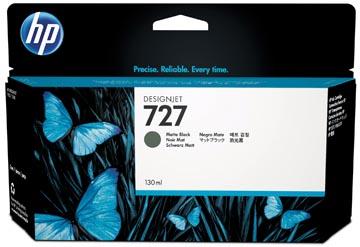 HP inktcartridge 727, 130 ml, OEM B3P23A, zwart foto