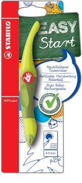STABILO EASYoriginal roller, voor rechtshandigen, blister van 1 stuk, limoen-donkergroen
