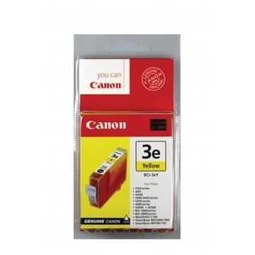 Canon cartouche d'encre BCI3-EY, 390 pages, OEM 4482A002, jaune