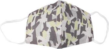 Masque lavable, motif army green, taille: hommes, paquet de 5 pièces